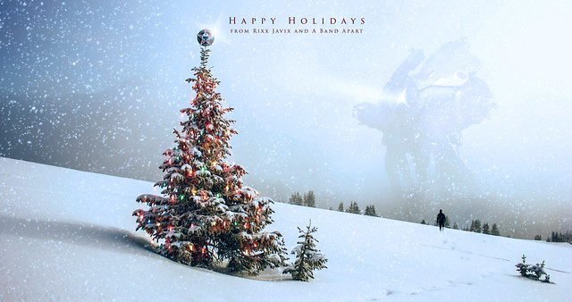 Happy Holidays 2017 Wallpaper