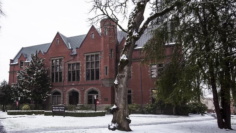 Snowy Campus Photos