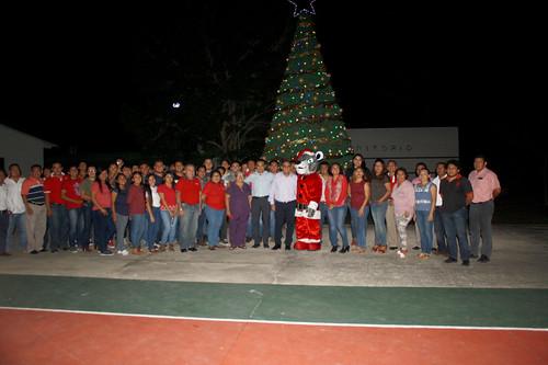 Encendido del árbol navideño 2017