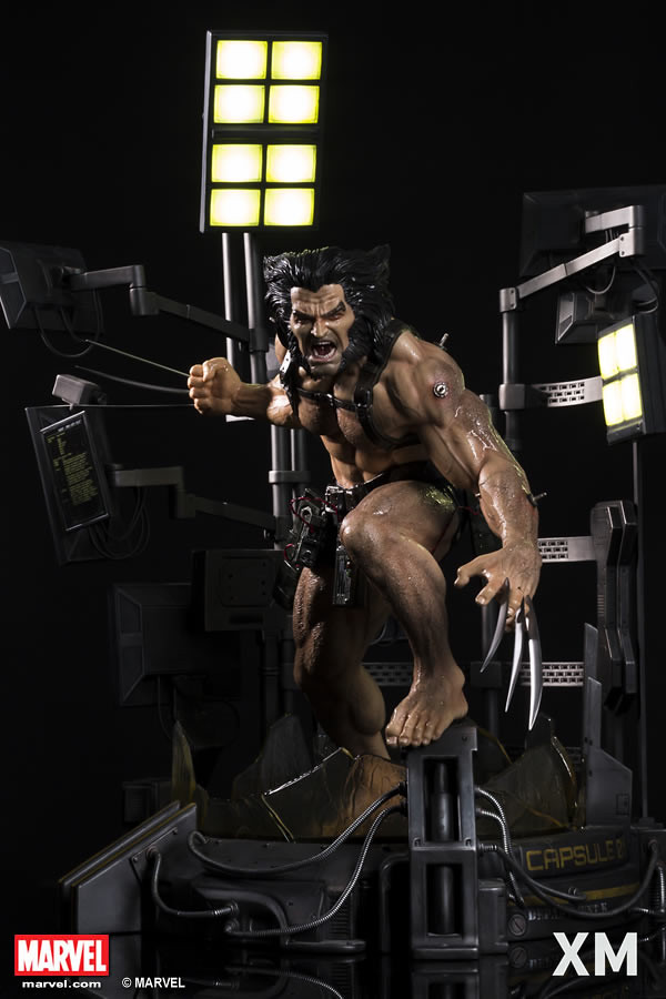XM Studios Premium Collectibles 系列 Marvel【金剛狼 Weapon X 計畫】Wolverine - Weapon X Project 1/4 比例全身雕像作品
