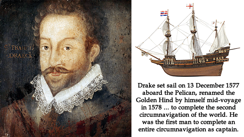 the life and voyages of sir francis drake an english sea captain slave trader and privateer of the e 1590 or later marcus gheeraerts, sir francis drake buckland abbey, devonjpg   1540 – 28 january 1596) was an english sea captain, privateer, slave trader,  naval  a wound, they insisted on withdrawing to save his life and left the  treasure  on his voyage to interfere with spanish treasure fleets, drake had  several.