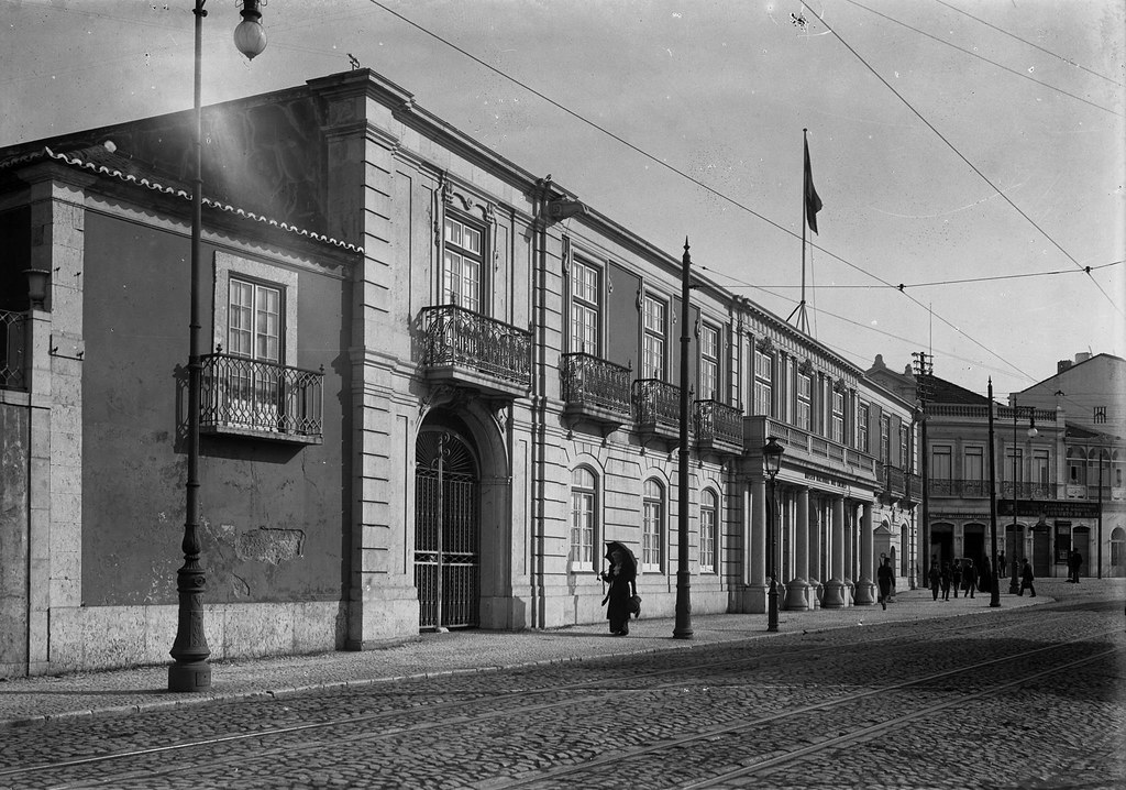 Picadeiro real, Belém (P. Guedes, c. 1900)