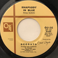 DEODATO:RHAPSODY IN BLUE(LABEL SIDE-A)