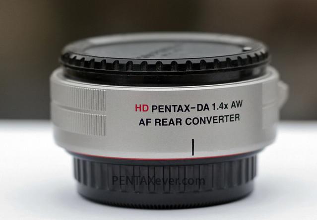 HD PENTAX-DA 1.4x AW AF Rear Converter Limited Silver Edition