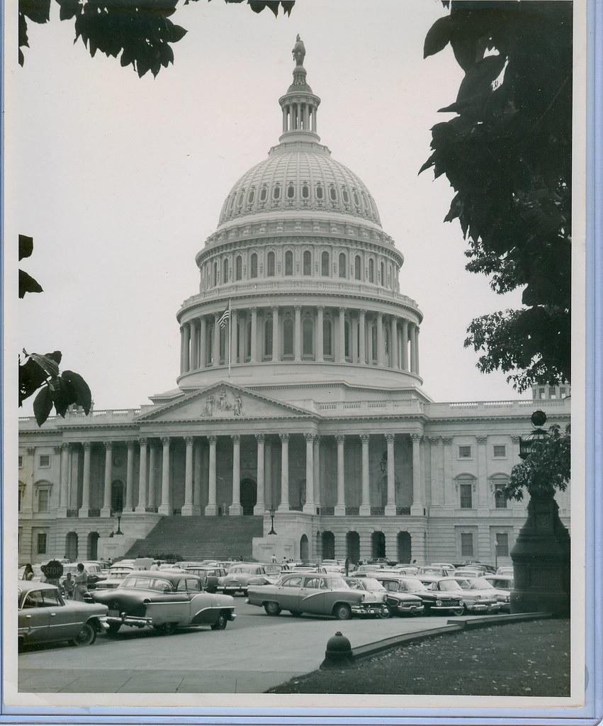U.S. Capital in 1950s