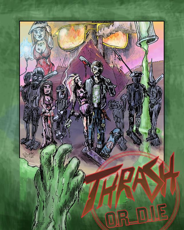 Thrash or Die Poster