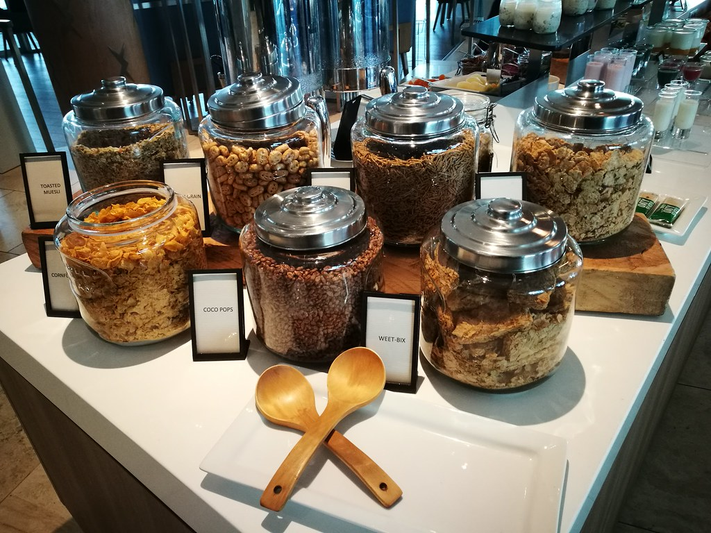 Cereal in jars