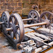 TIMS Mill Tour 2017 UK - Wortley Top Forge - two types of railroad axles-9719