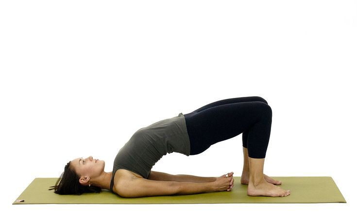 Yoga For Beginners  : Bridge Pose - Setu Bandha Sarvangasana
