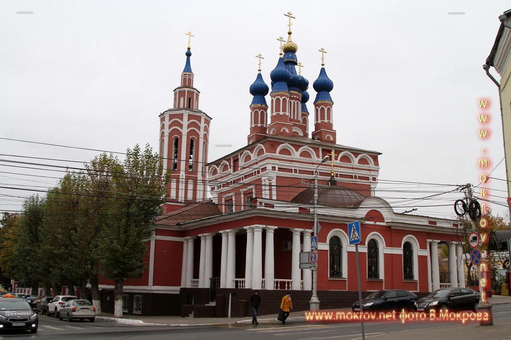 Город Калуга расположена церковь Рождества Пресвятой Богородицы, построенная в 1685 г. Церковь выгорела во время пожара 1754 года и была в 1755 году отстроена заново.