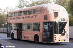 Wrightbus NRM NBFL - LTZ 1159 - LT159 - Bumble - Aldwych 9 - RATP Group London - London 2017 - Steven Gray - IMG_5590