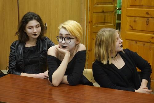 Дек 2 2017 - 08:48 - Студенты Литинститута провели суд над Электрой