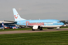 Thomsonfly G-THOE B737-300 Coventry