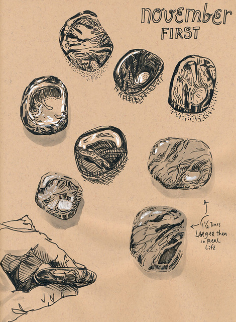 Sketchbook#109: Treasures