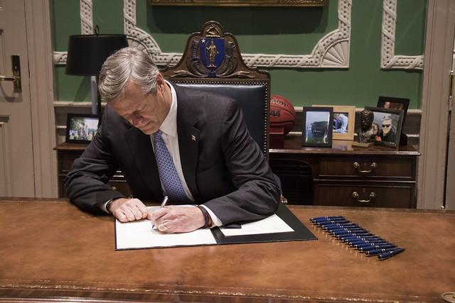 Governor Baker Re-Establishes Governor's Task Force on Hate Crimes 11.06.17