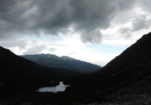 Green Lake before storm, High Tatras, Slovakia