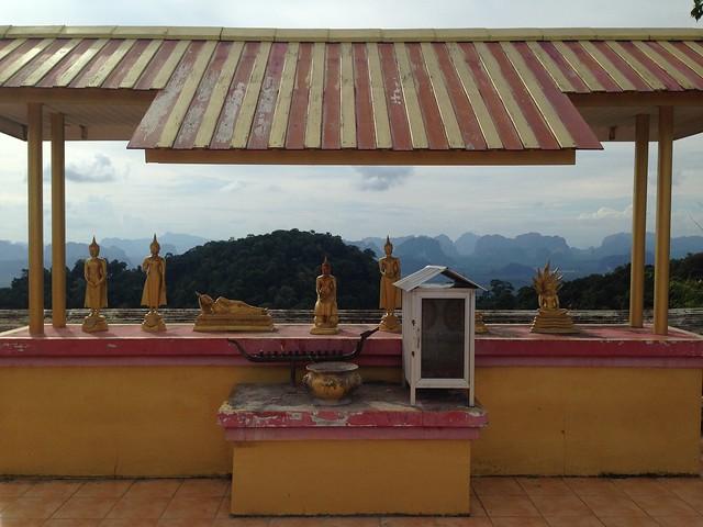 Krabi: Tiger cave temple / Wat Tam Sua