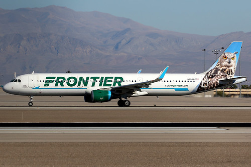 frontier frontierairlines fft f9 airbus a321 airbusa321 aircraft airplane airport plane planespotting lasvegas klas las n701fr canon 7d 100400 usa