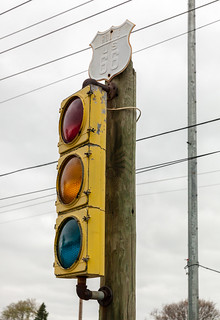 Traffic Lights, Route 66