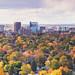Boise Skyline Panorama Fall 2014