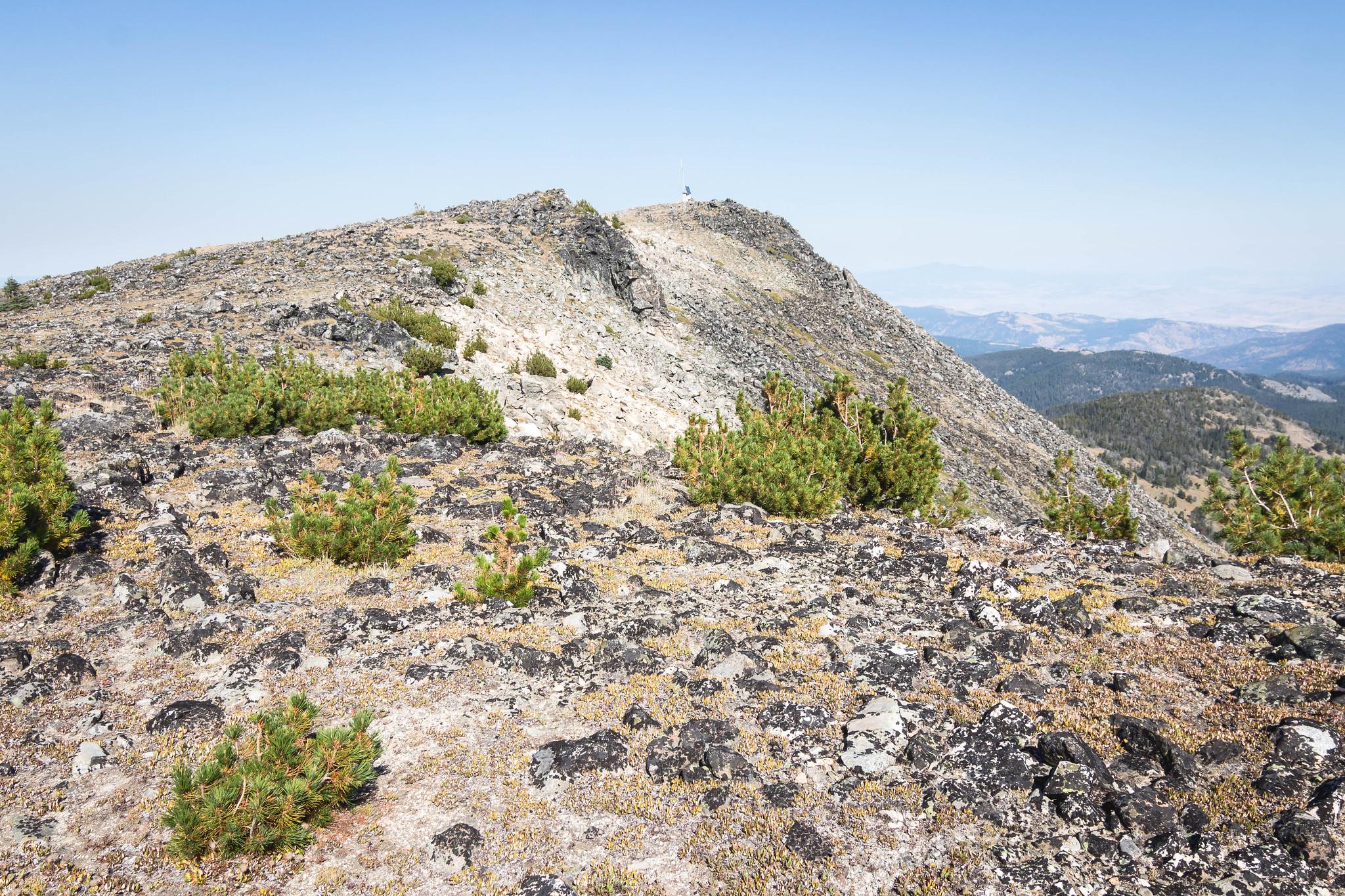 Rock Mountaoin summit ahead