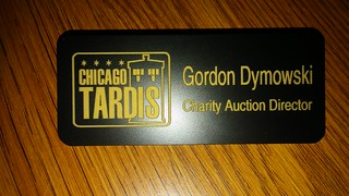 Chicago TARDIS - 2017 Auction Director Badge