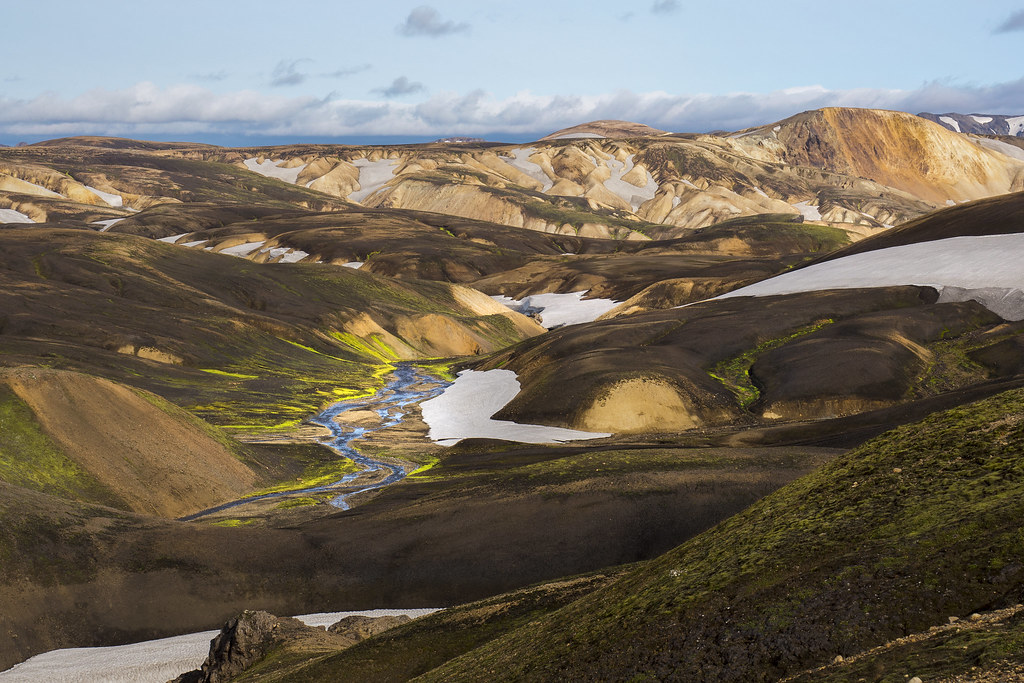 Valley near Landmannalaugar