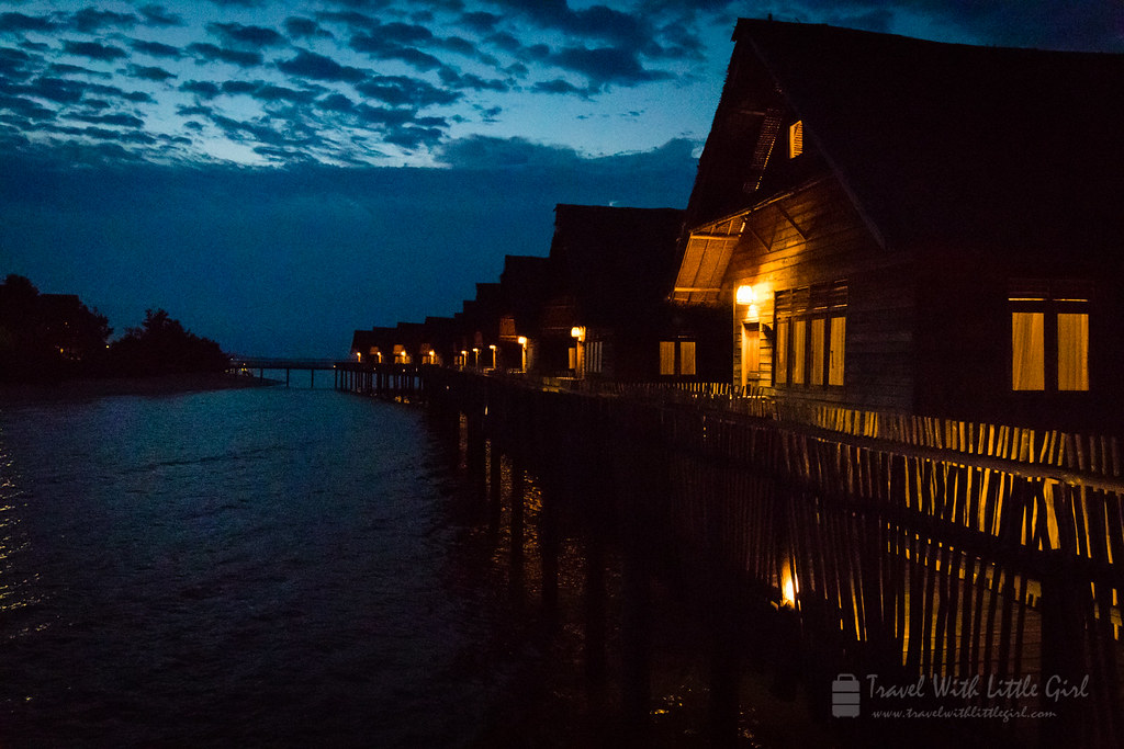 Night at Telunas Private Island
