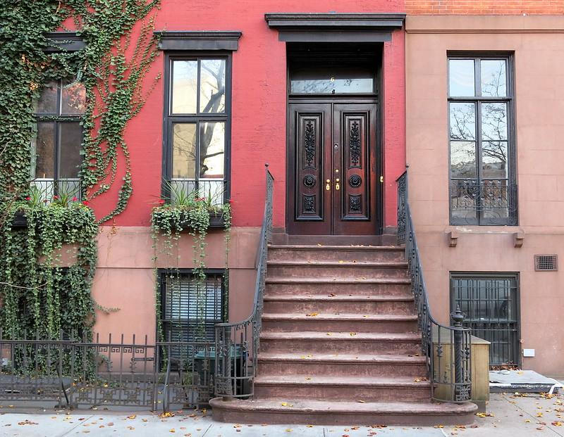 On Perry Street, Greenwich Village, New York