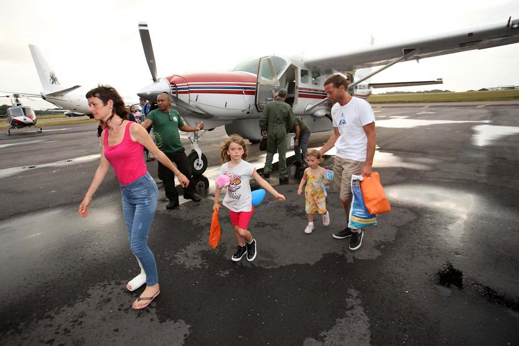 Casal dos EUA resgatado no Marajó presta depoimento em Belém