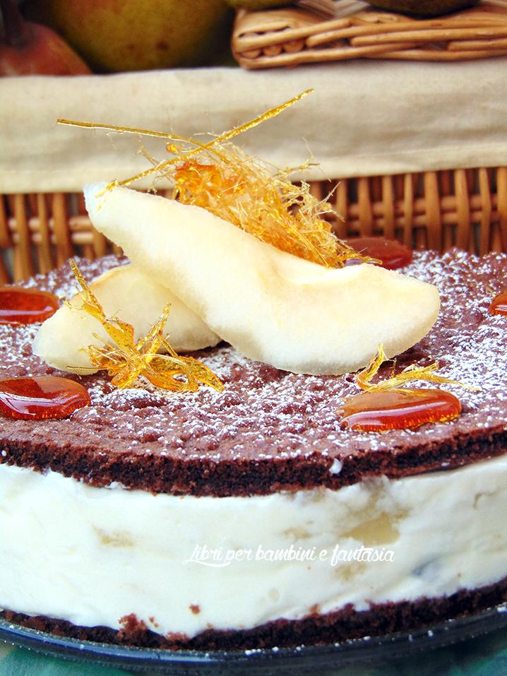 torta ricotta e pere 6