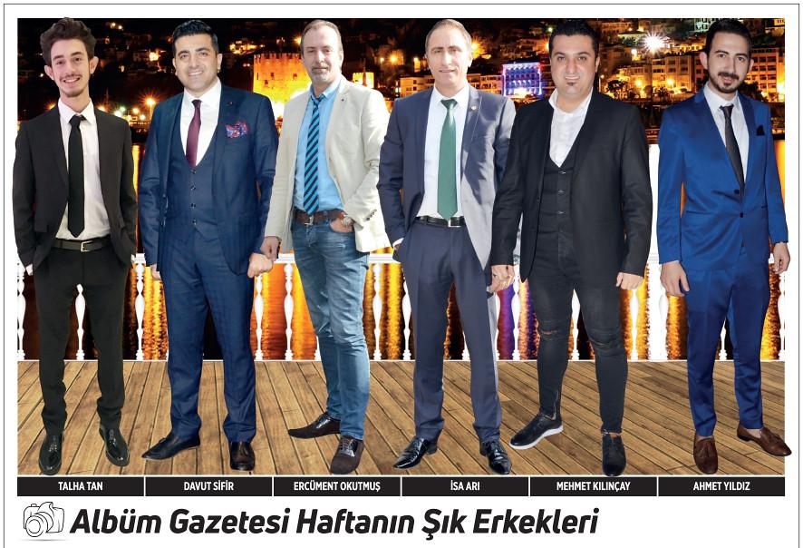 Talha Tan, Davut Sifir, Ercüment Okutmuş, İsa Arı, Mehmet Kılınçay, Ahmet Yıldız