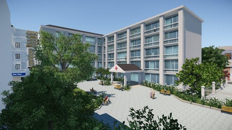 Trung tâm y tế bên trong KDC CityLand Park Hills