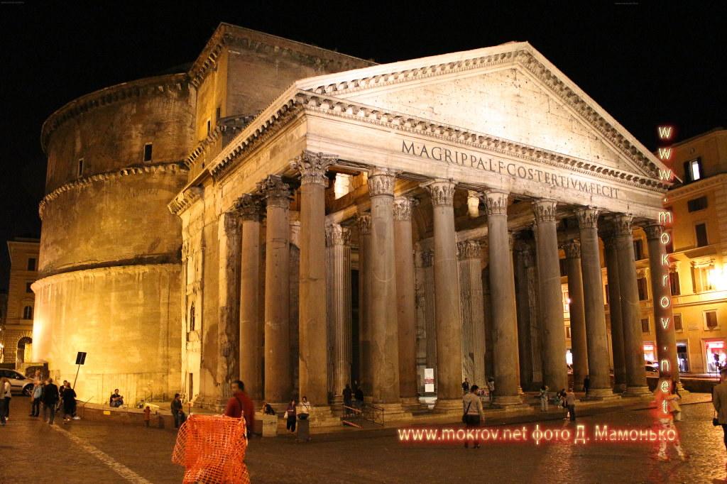 Рим — Италия прогулки туристов с фотокамерой