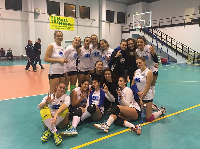 NEW VOLLEY - MONOPOLI 3-1