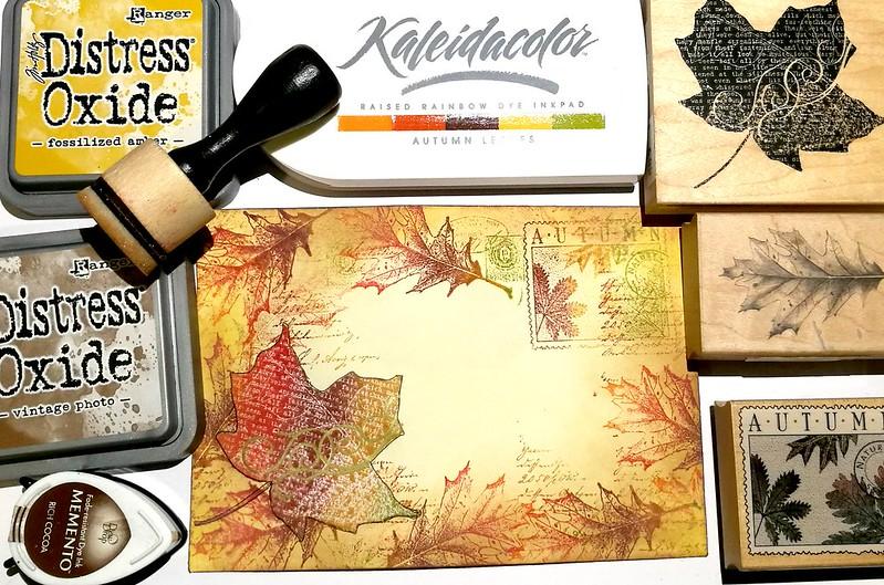 Autumn Mail Art Monday