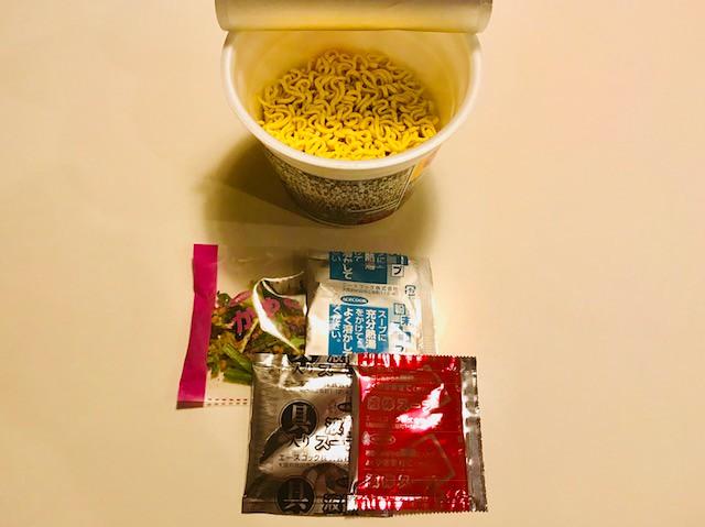 Fwd: ご飯にかけるギョーザ味ラーメン④