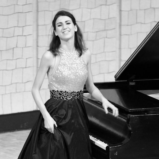 """SUSANA GÓMEZ VÁZQUEZ, PIANO - AUDITORIO """"ÁNGEL BARJA"""" CONSERVATORIO DE LEÓN 14.11.17"""
