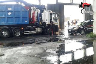 Noicattaro. Furto mezzi raccolta rifiuti front