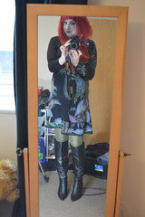 Desigual Dress and 10K Boots