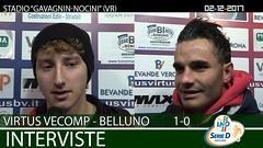 Virtus V.-Belluno del 02-12-17