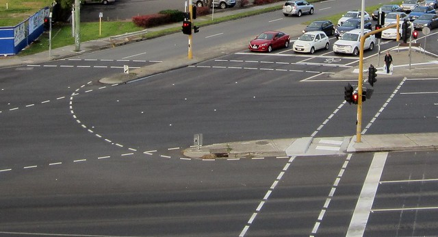 Intersection near Southland Shopping Centre