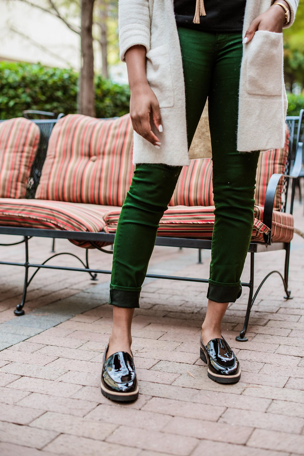 how to style the dsw cypress loafer