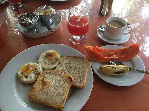 朝飯はブリティッシュスタイル
