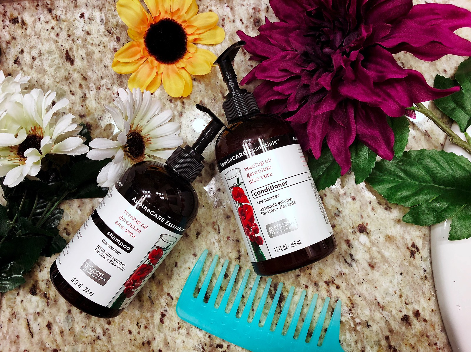 apothecare essentials hair care line at cvs