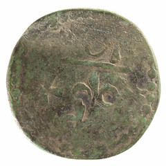 Unknown Colonial token obverse