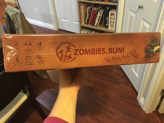Zombies, Run! Board Game