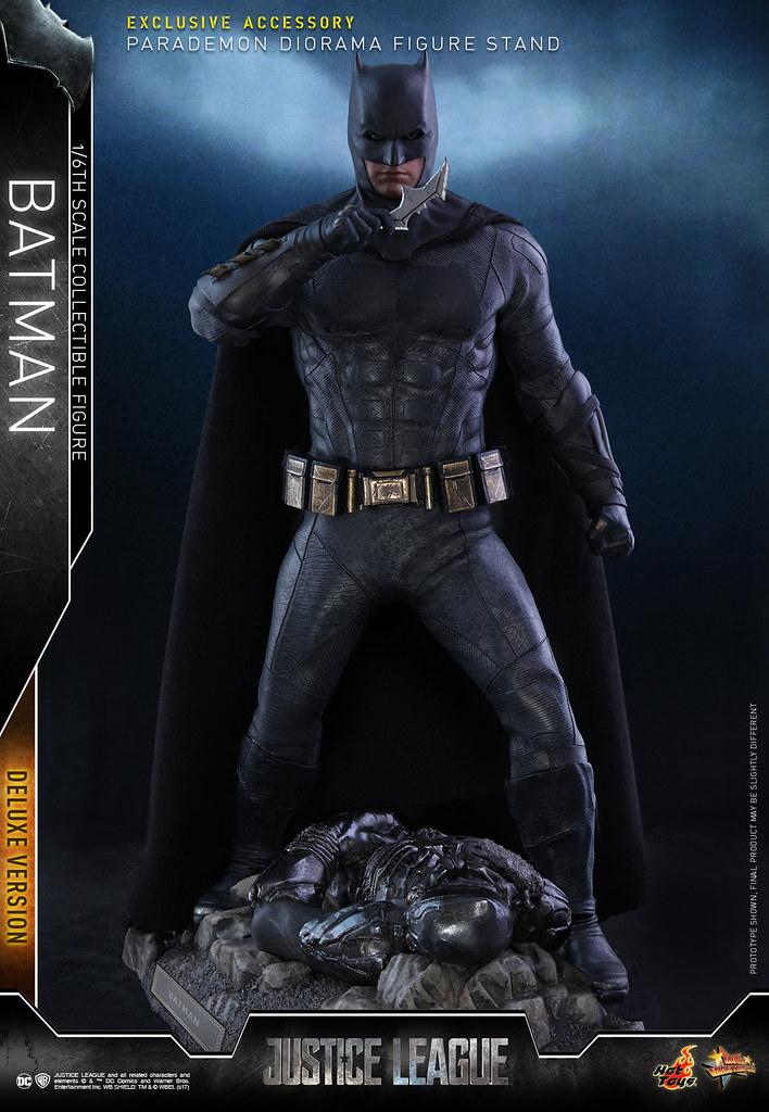 附屬超豪華的情境地台!Hot Toys - MMS456 - Justice League - 1/6th scale Batman (Deluxe Version)