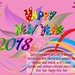 Hi! happy new year look at my new post of happy new year 2018 with beautiful bac...
