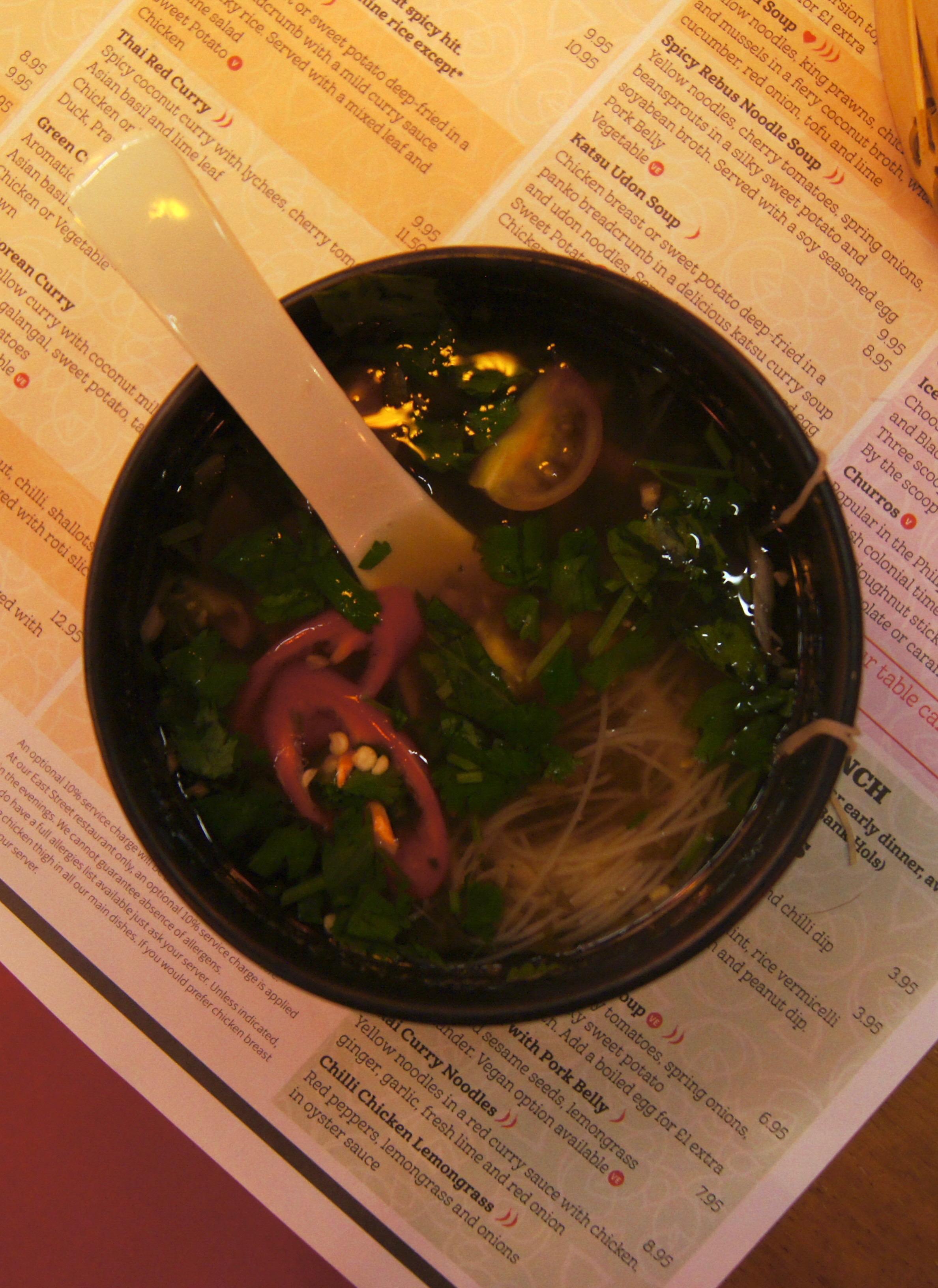 Tampopo Trafford Centre - tom yam soup